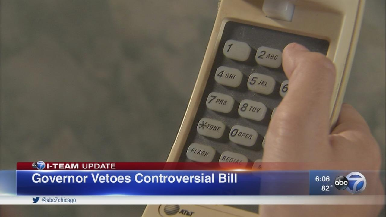 Governor vetoes controversial bill
