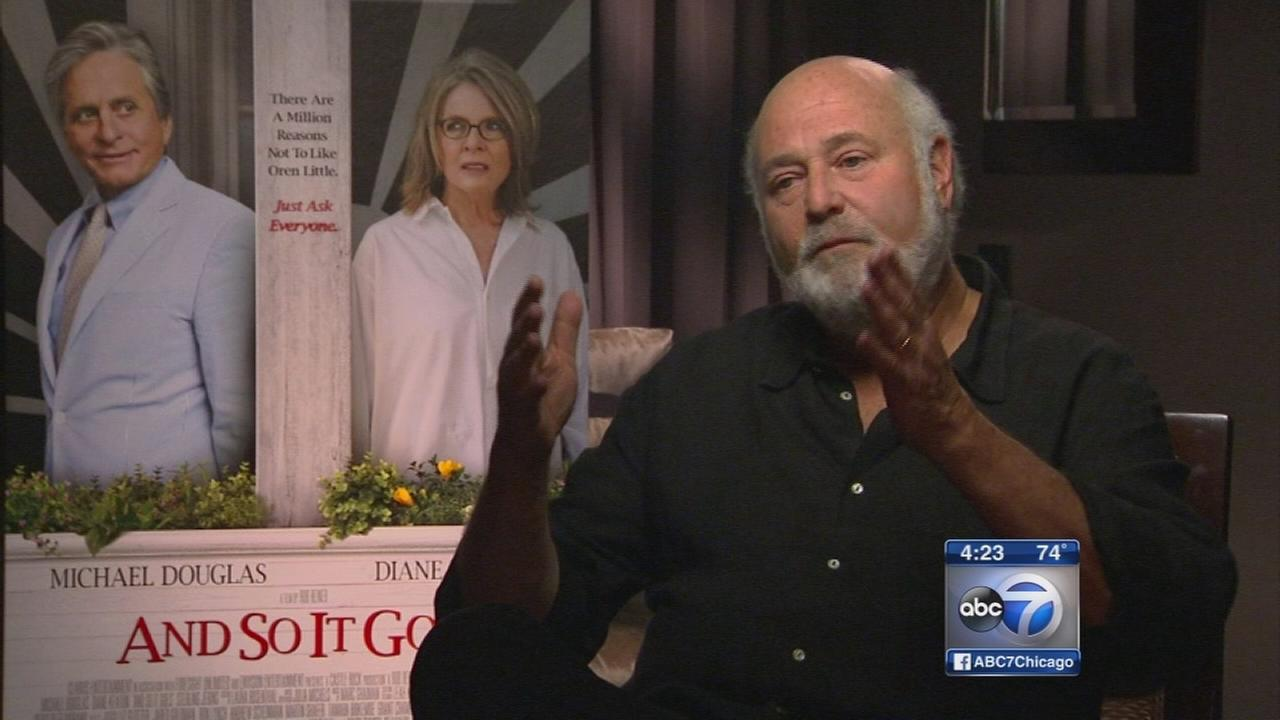 Rob Reiner talks about new film And So It Goes