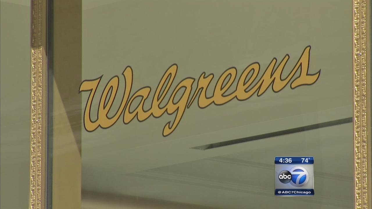 Protesters gather amid Walgreens headquarters relocation plan