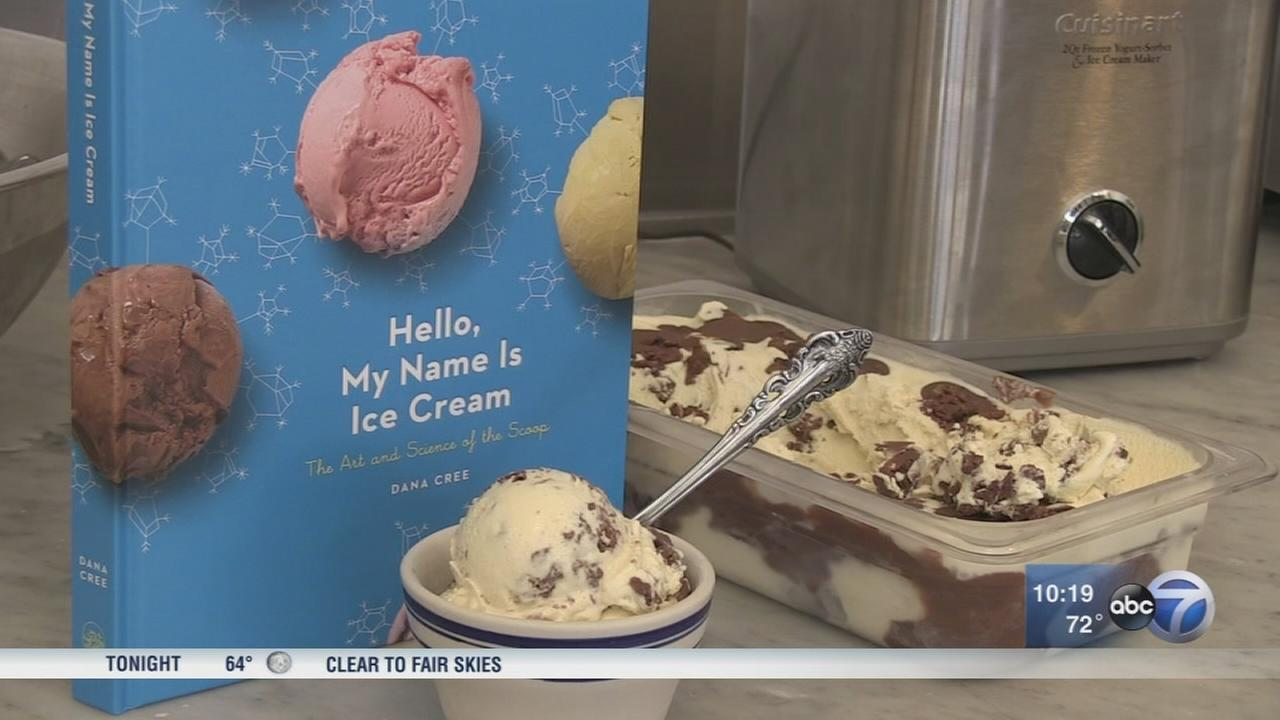 Chicago chef pens book about ice cream