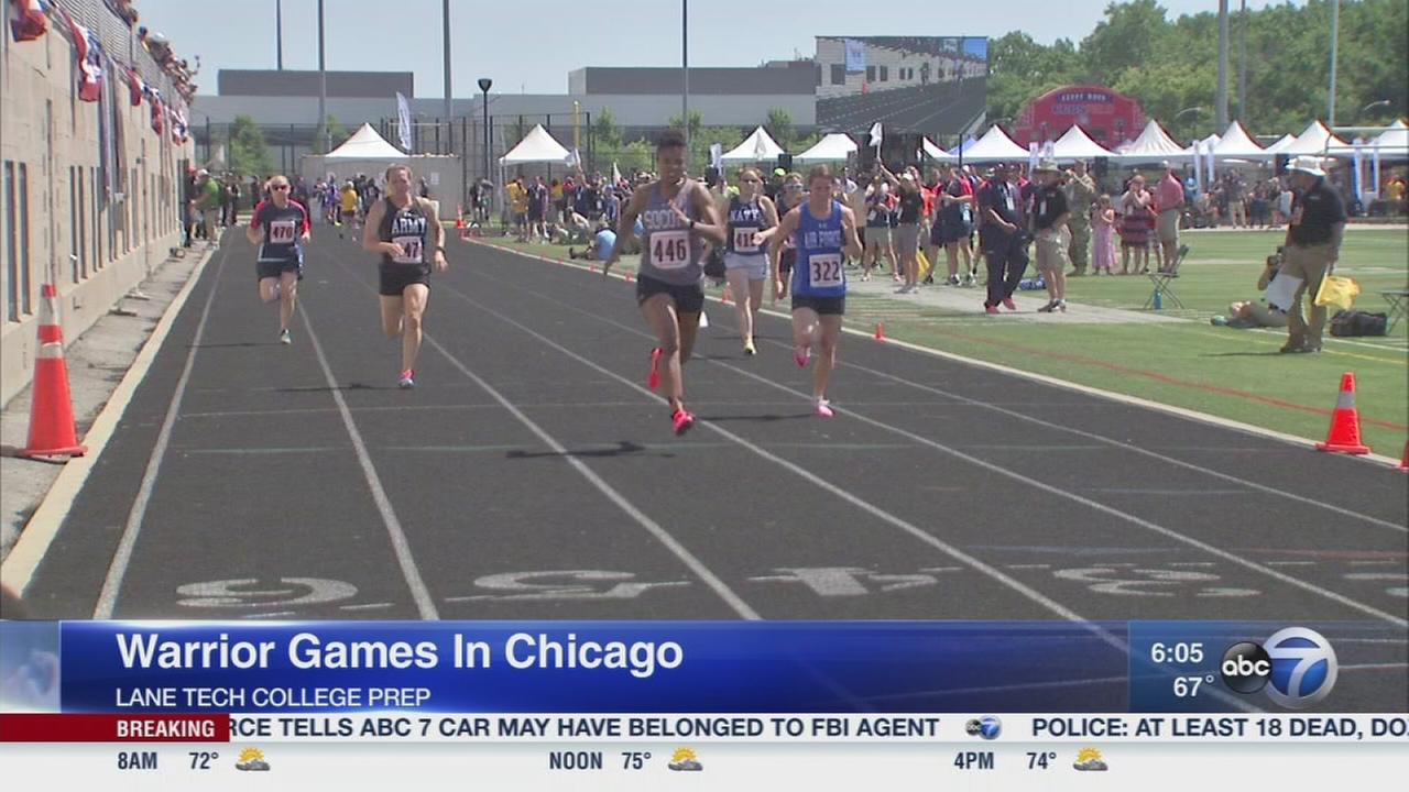 Warrior Games continue Monday