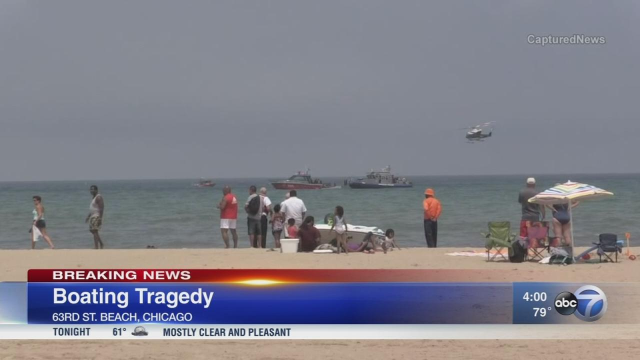 Father dead after being pulled from Lake Michigan