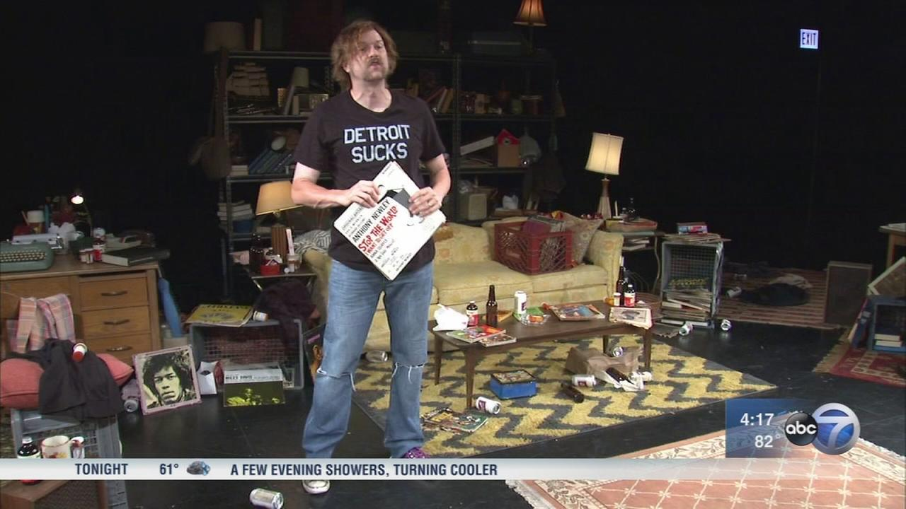 Play about rock critic Lester Bangs opens at Steppenwolf Theatre