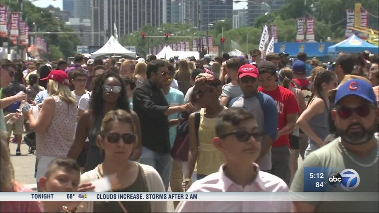 Taste of Chicago wraps up Sunday