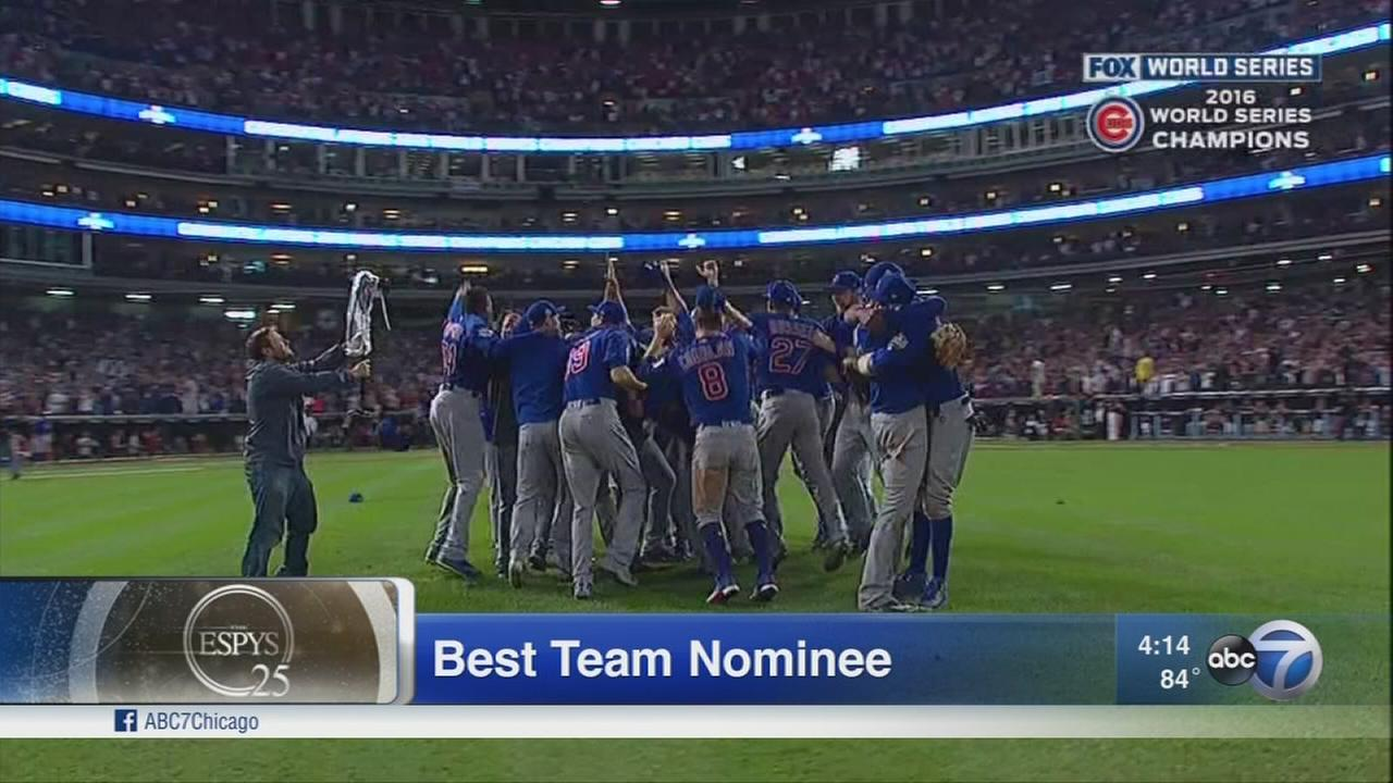 Cubs up for Best Team, Best Game at Thursdays ESPYs