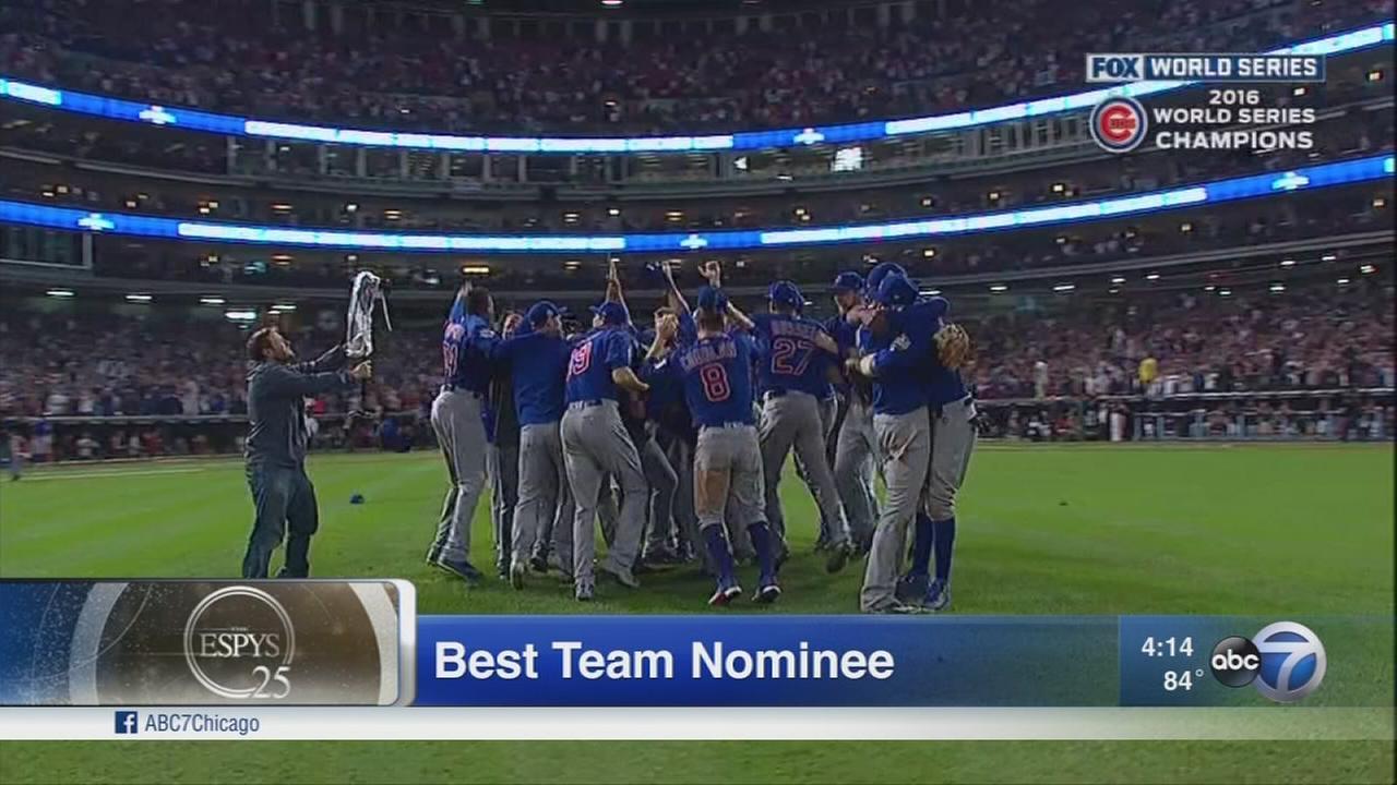 Cubs up for Best Team, Best Game at Thursdays ESPYs