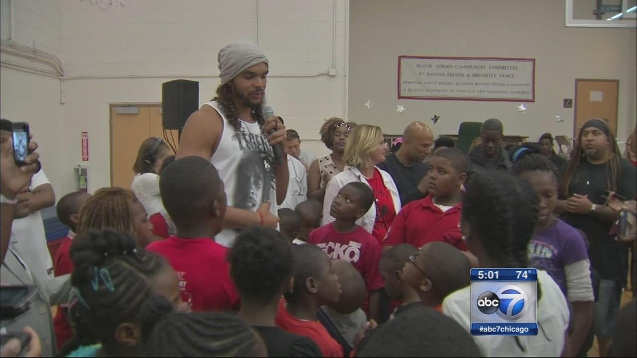 Joakim Noah announces Chicago Stand Up anti-violence campaign