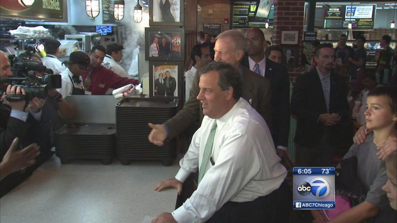New Jersey Gov. Chris Christie in Chicago for Rauner fundraiser