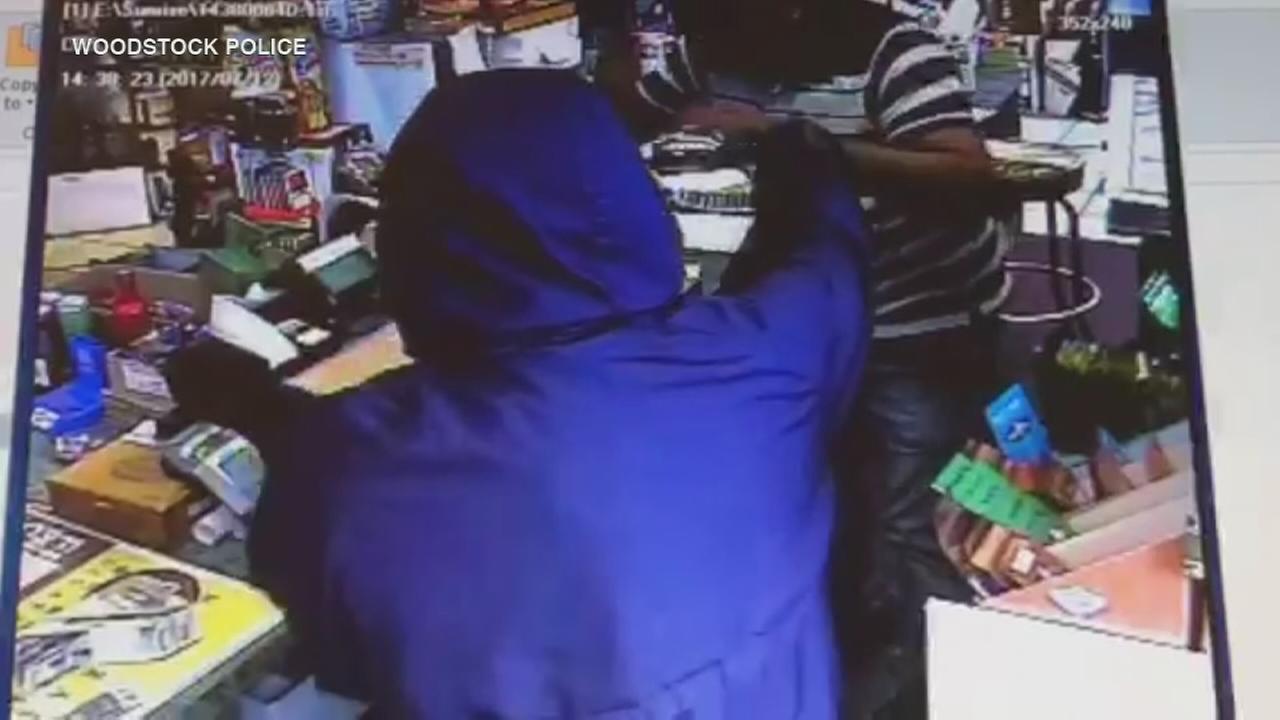 Suspect pistol-whips Woodstock store employee