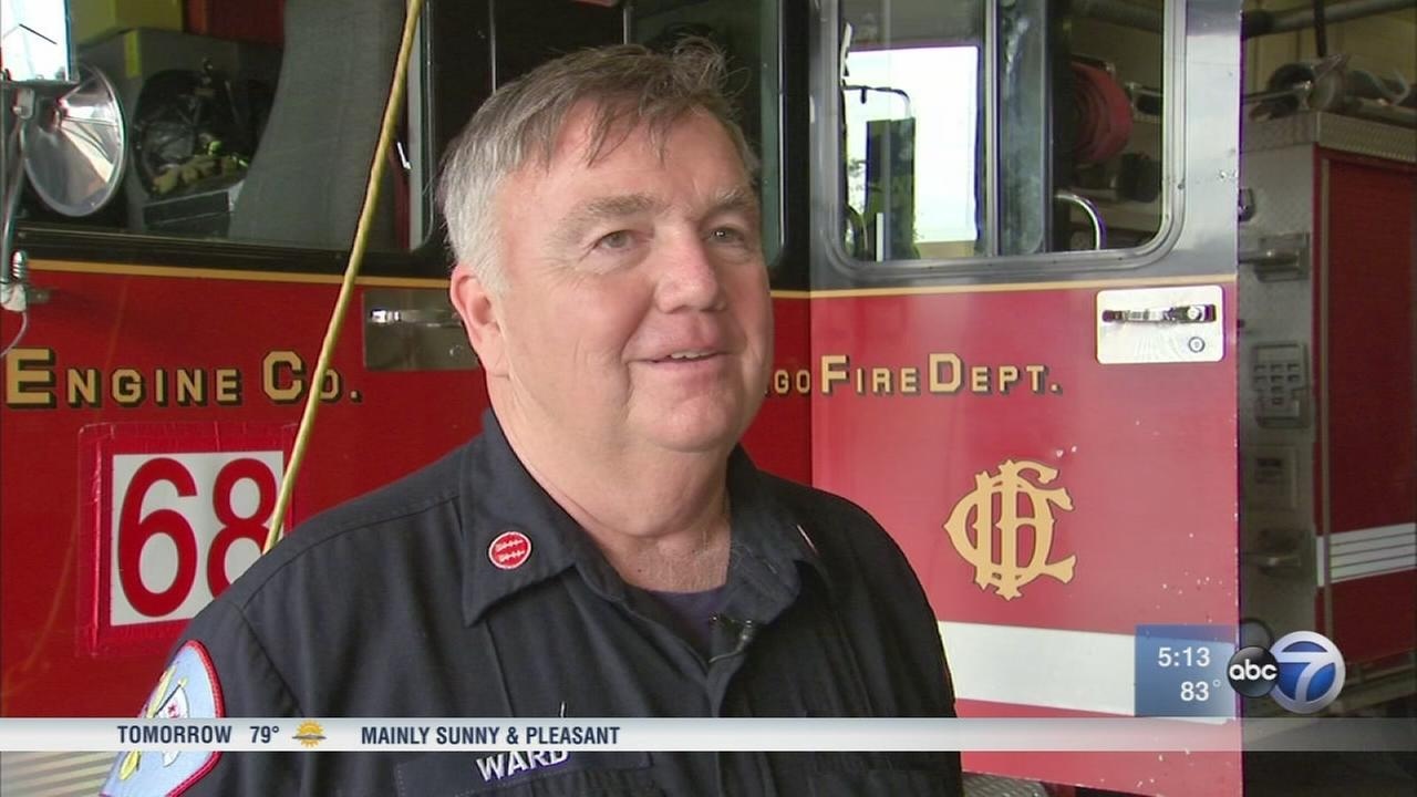 Fire Captain hangs up hat after 43 years of serving Chicago