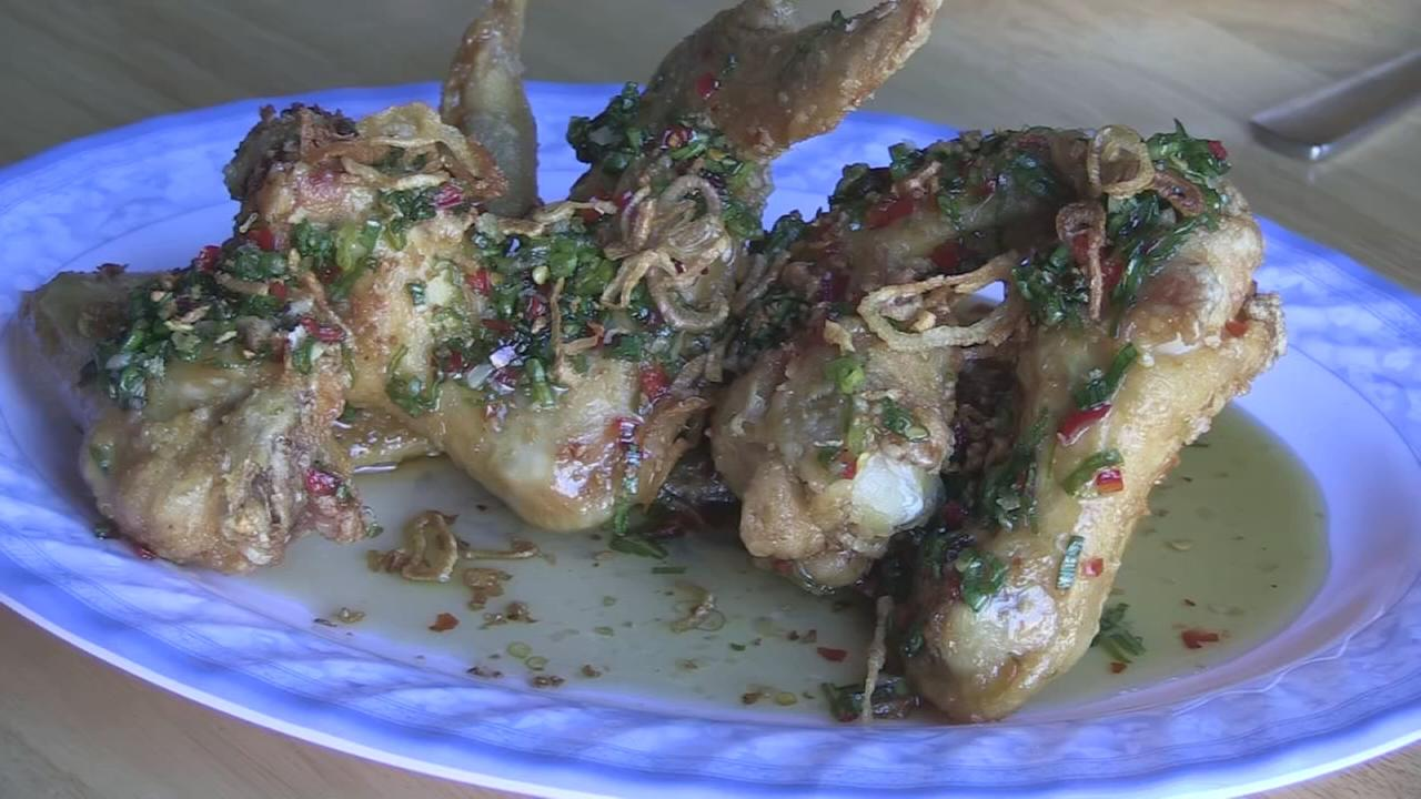 Extra Course: Chicken wings at HaiSous
