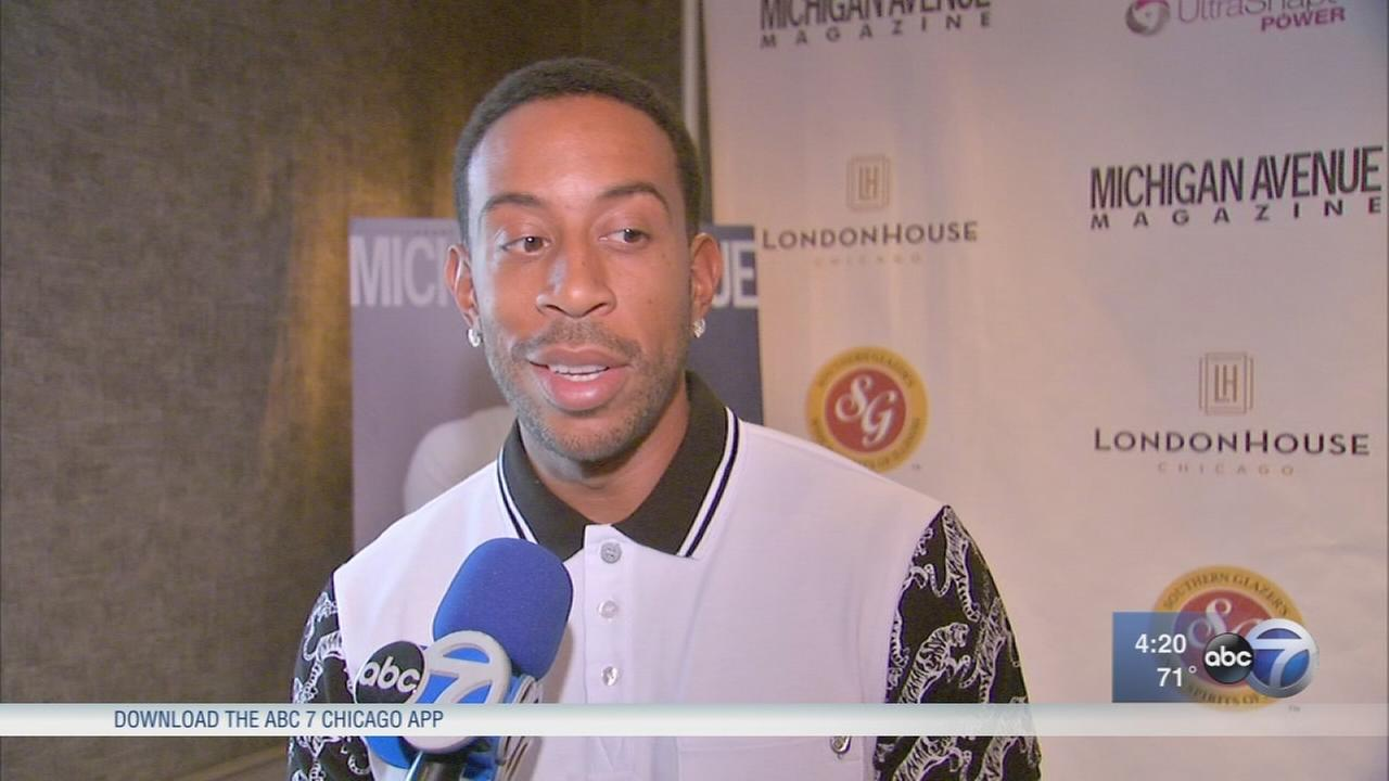 Ludacris attends Chicago party in his honor