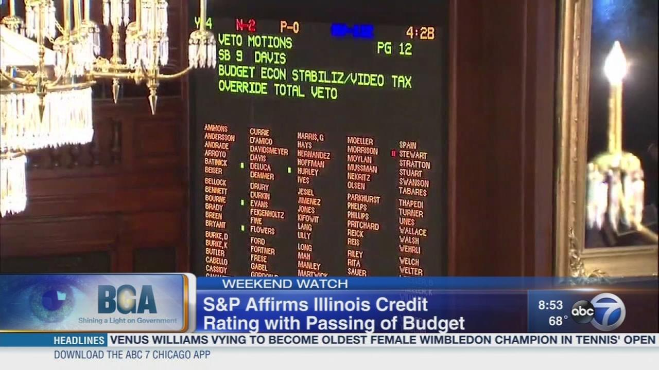 Weekend Watch: Illinois credit rating