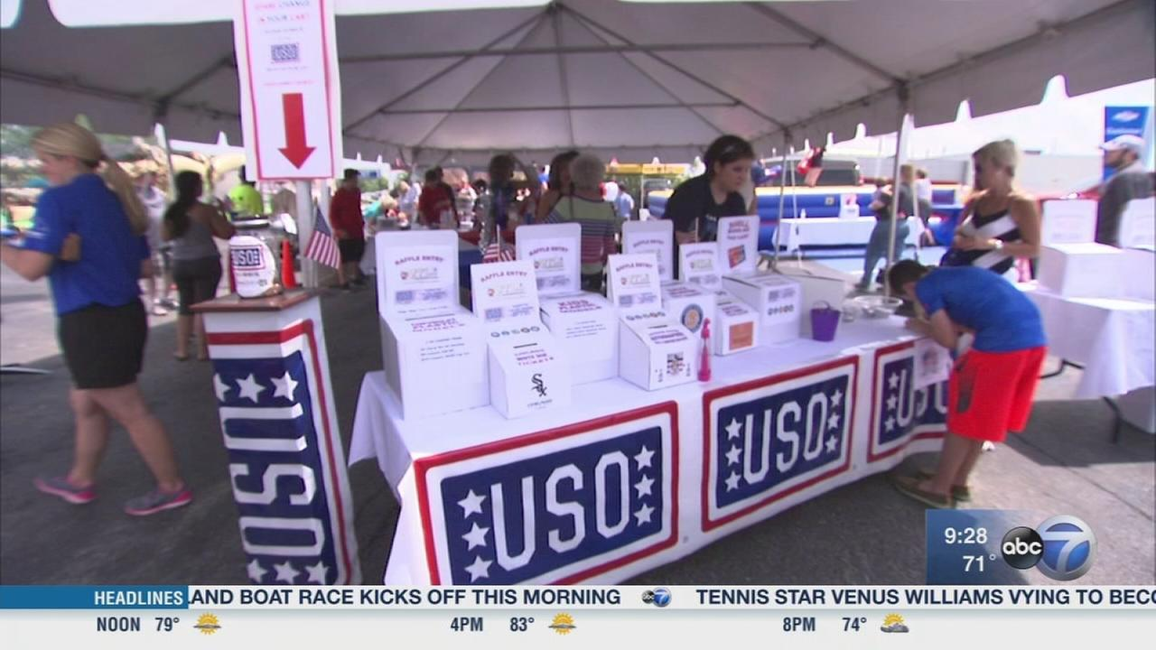 5th annual USO BBQ for the Troops
