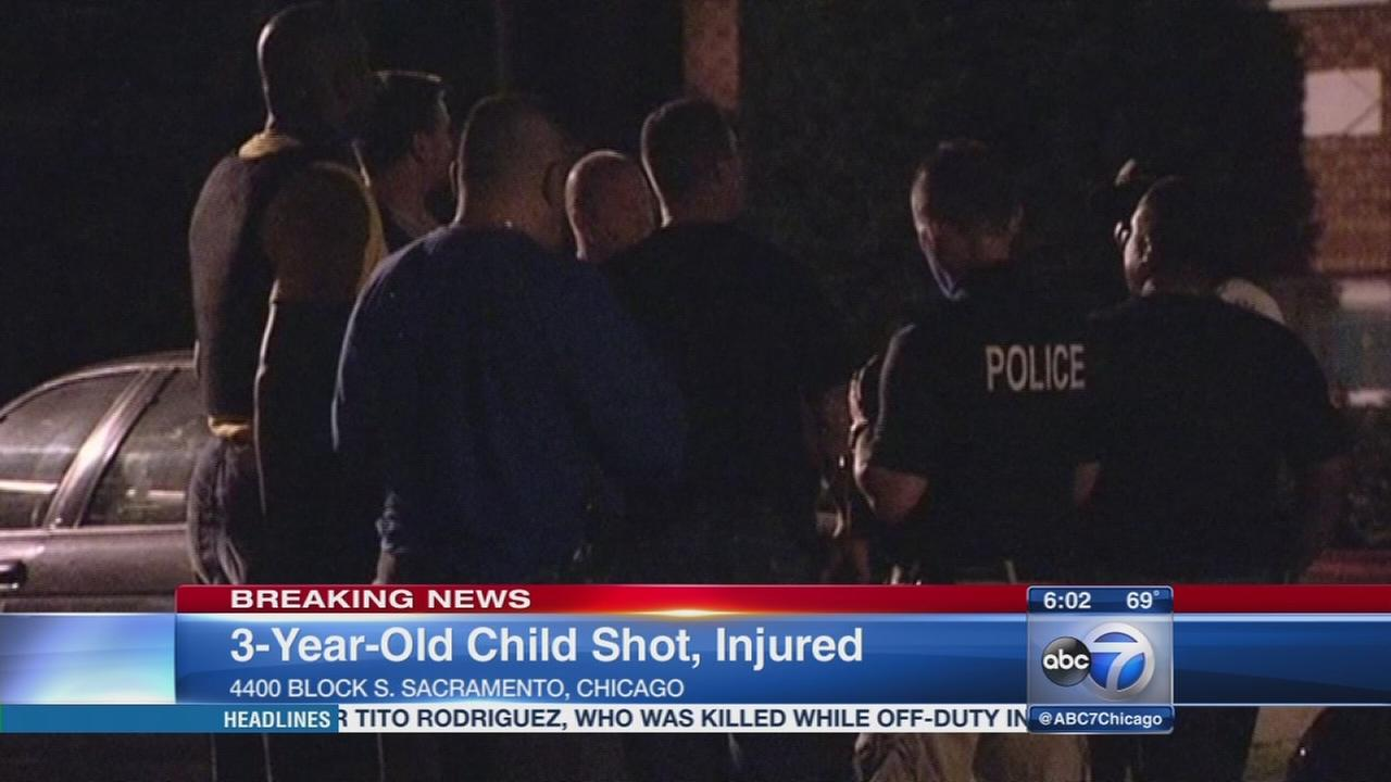3-year-old shot in Brighton Park