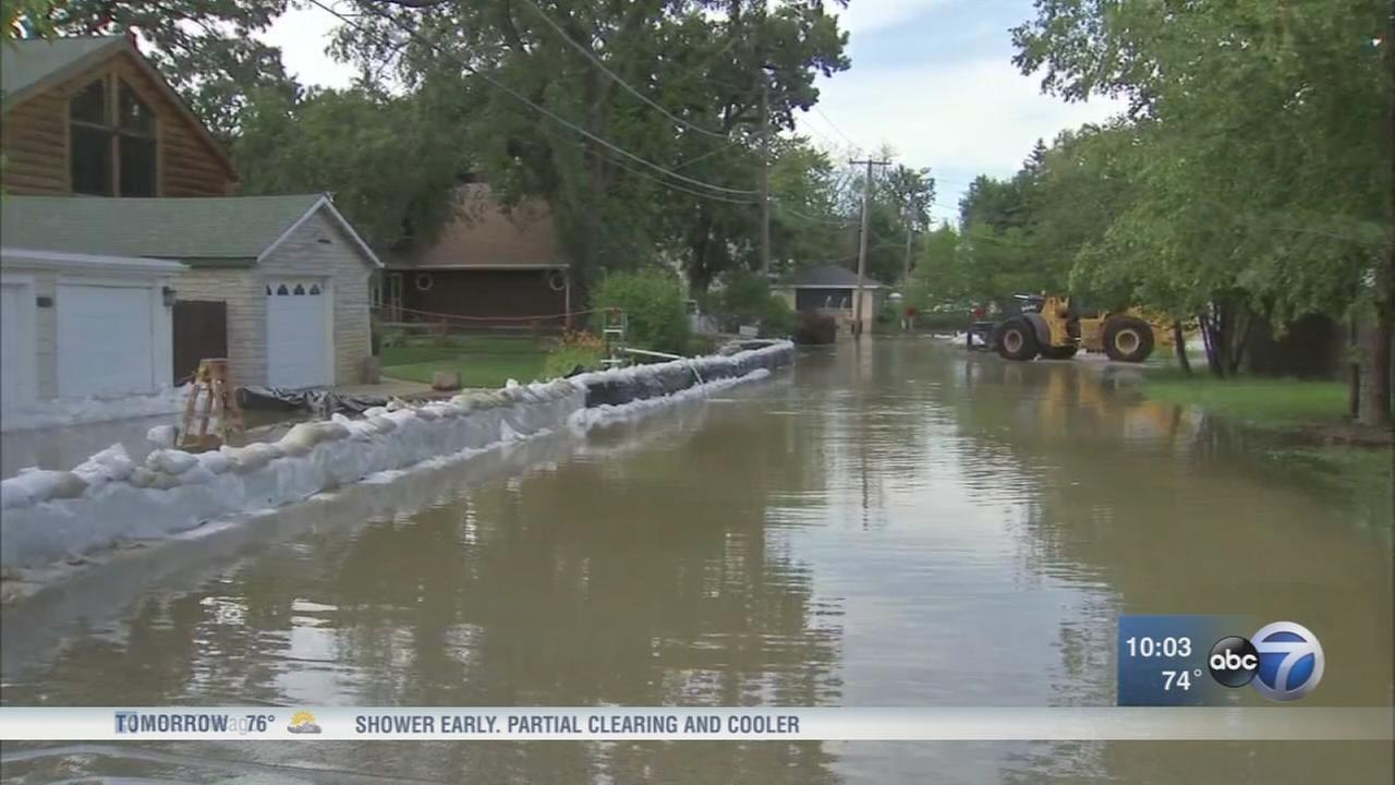 Rivers continue to rise days after heavy rain