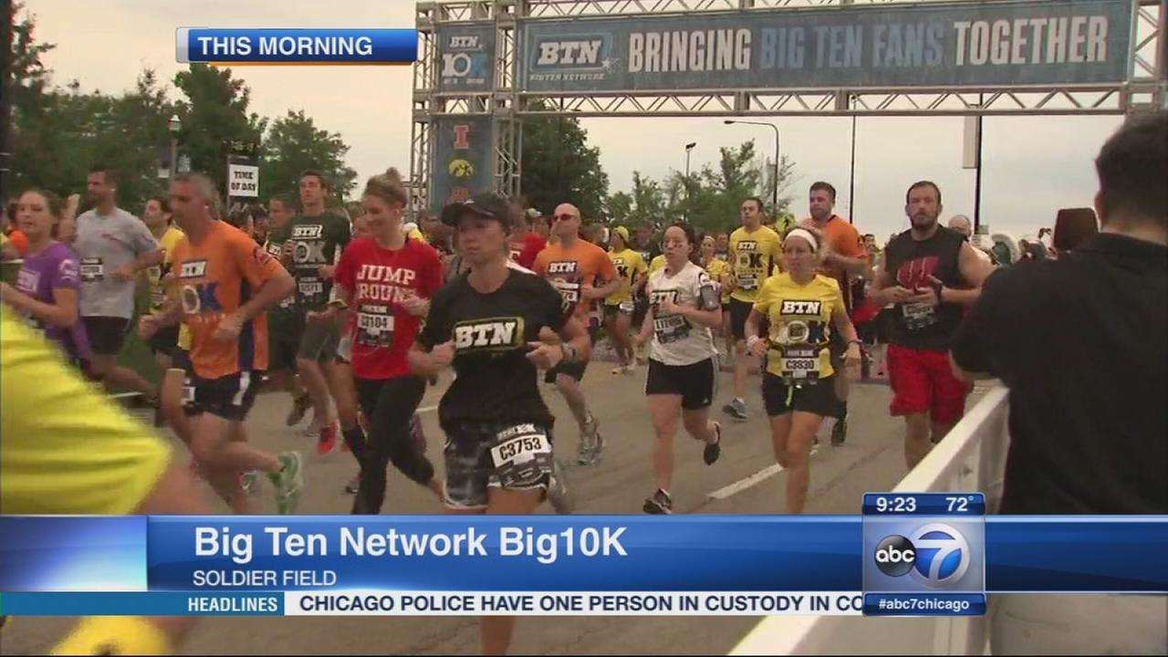 big ten network big 10k race comes to soldier field