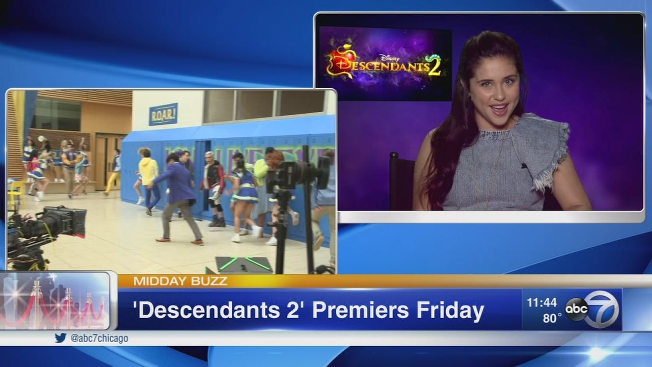Descendants Two star Brenna DAmico talks about growing up in Chicago