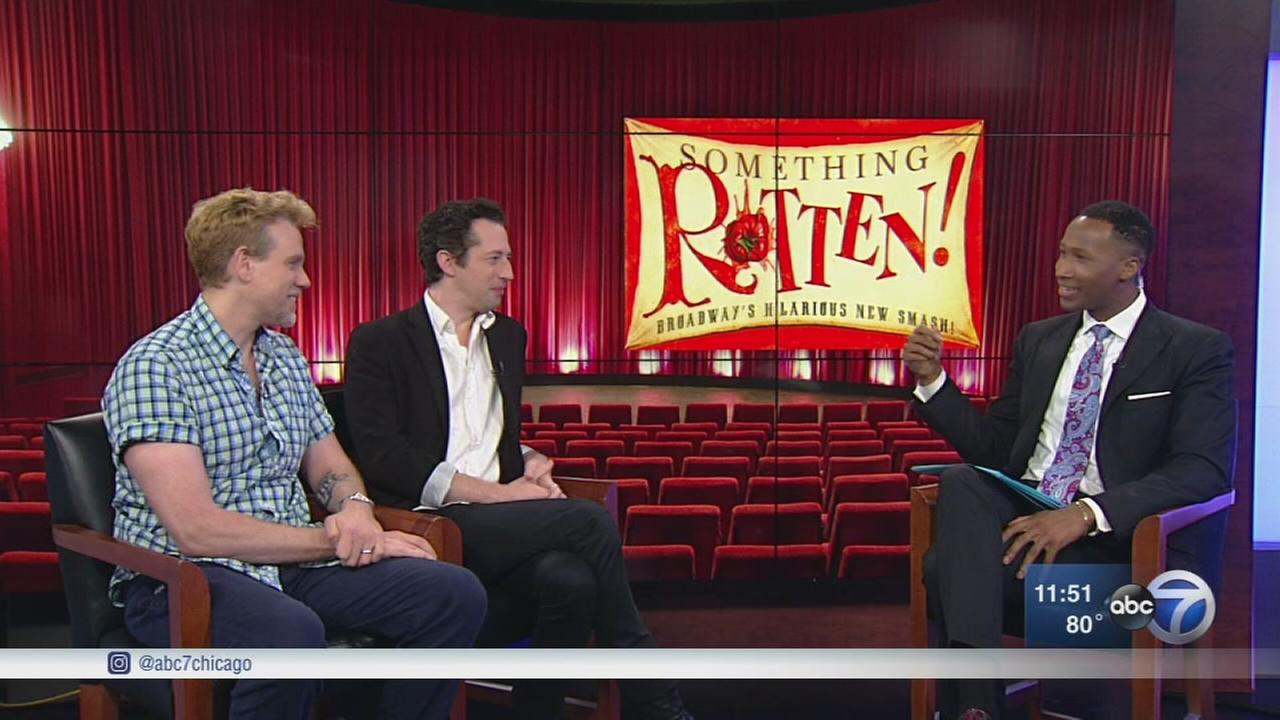Stars of ?Something Rotten? stop by ABC7