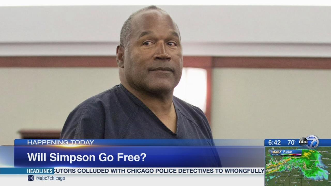 OJ Simpson to address parole board
