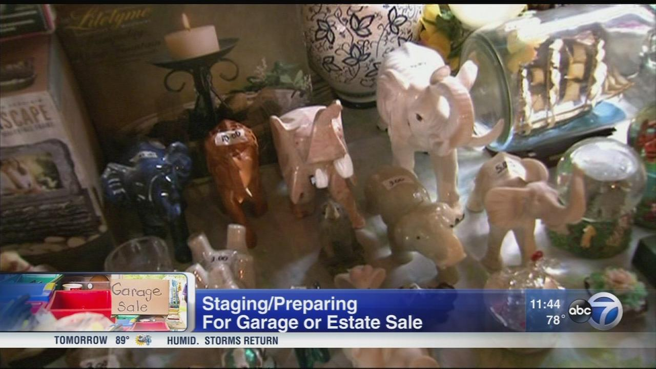 Tips and tricks for garage sale success