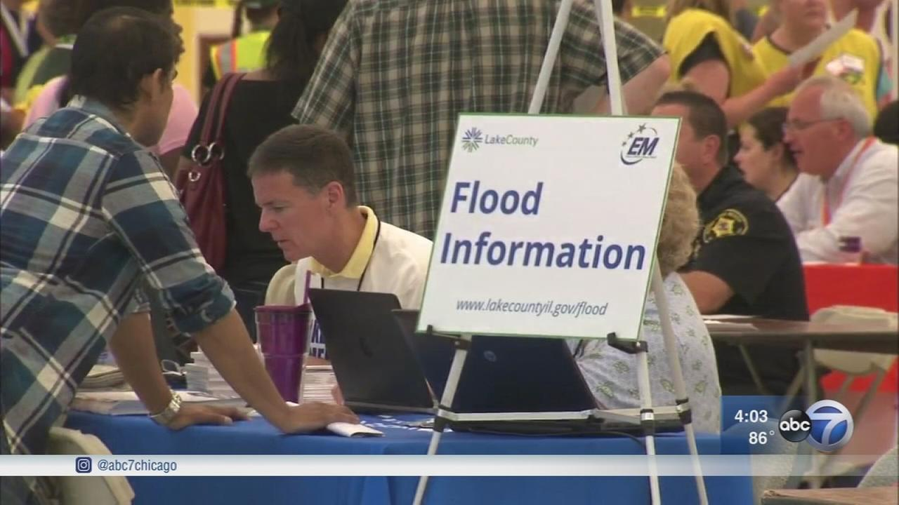 Resource center opens to help flood victims