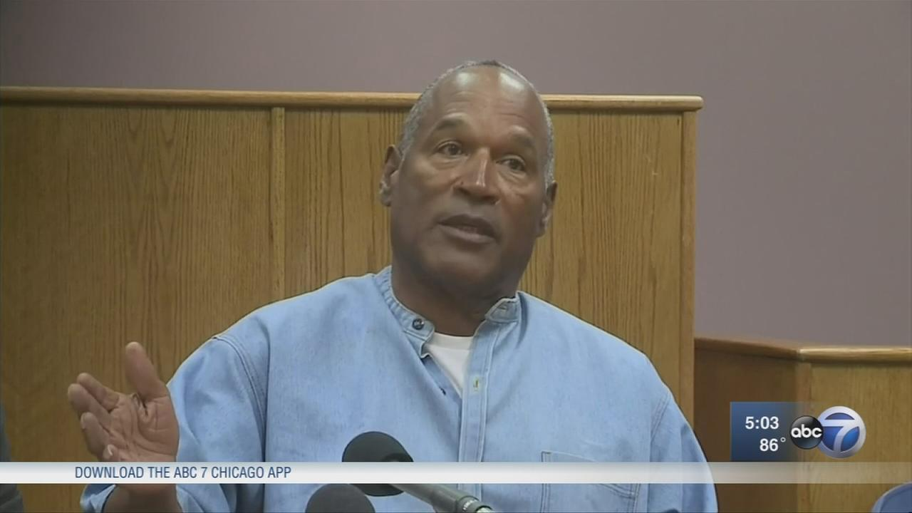 OJ Simpson gets parole after nearly 9 years in prison