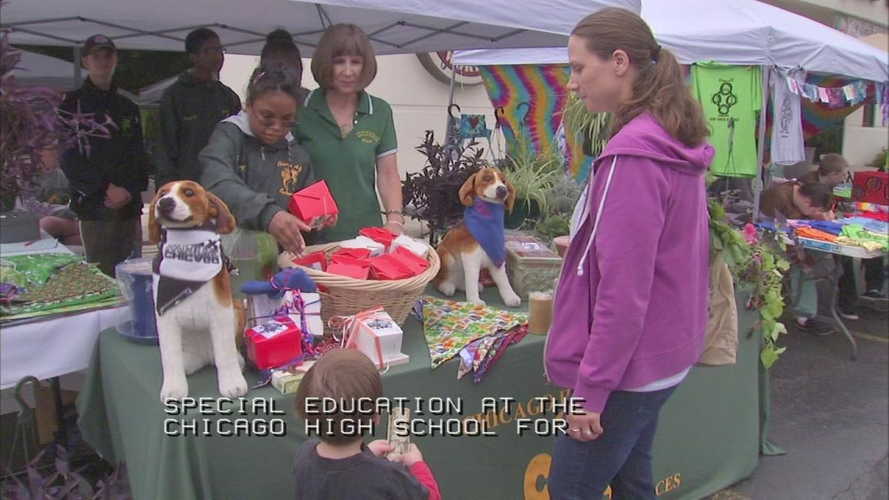 Farmers Market spreads awareness of educational disabilities program