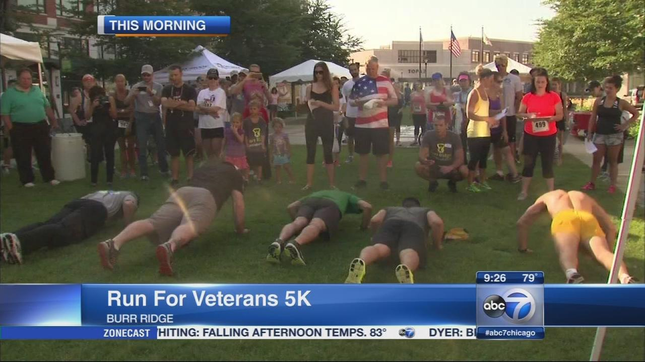 First-ever Run for Veterans 5K comes to Burr Ridge