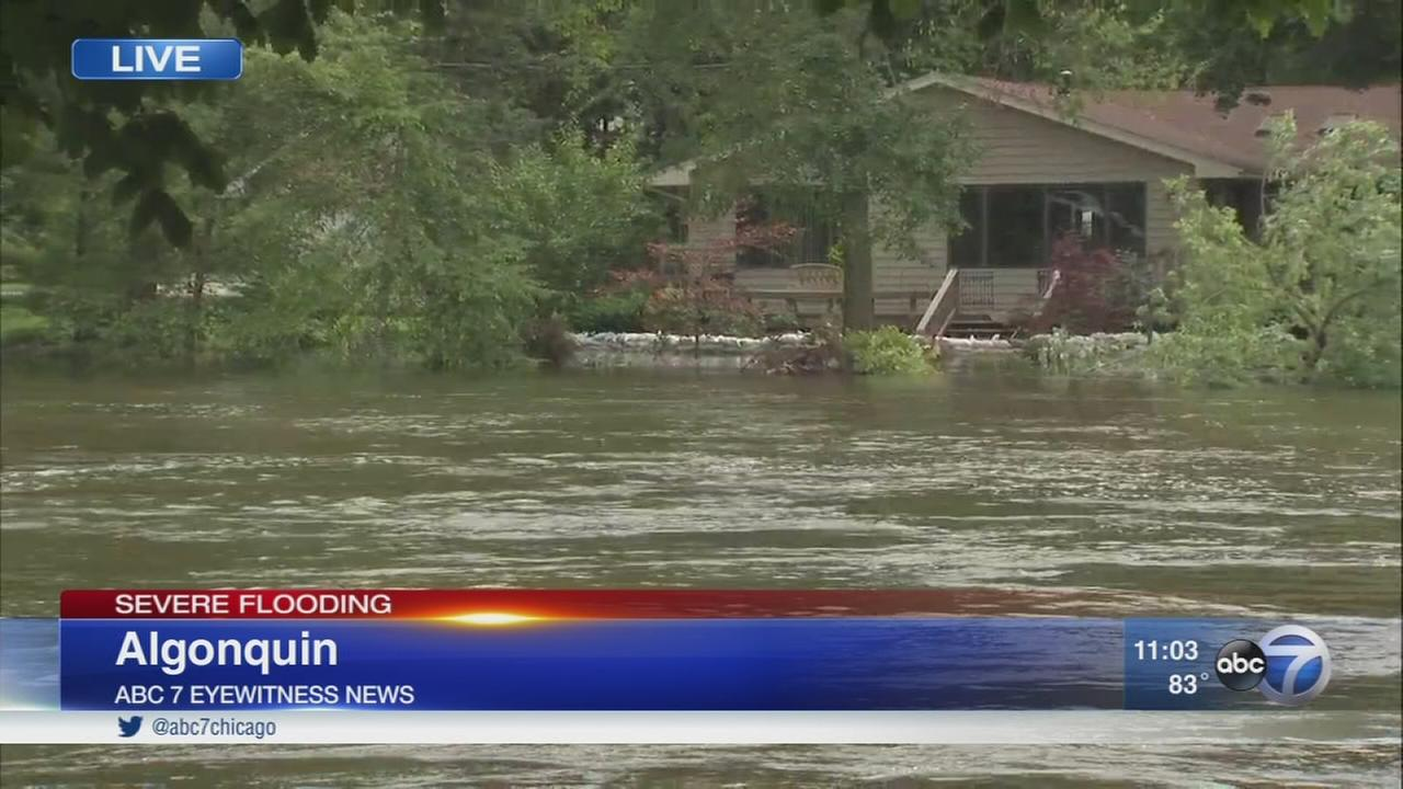 Algonquin residents brace for more flooding along Fox River