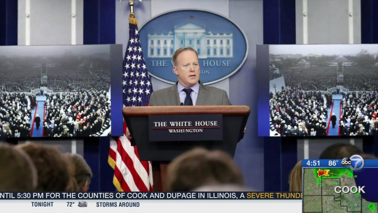 Sean Spicer resigns as White House press secretary.