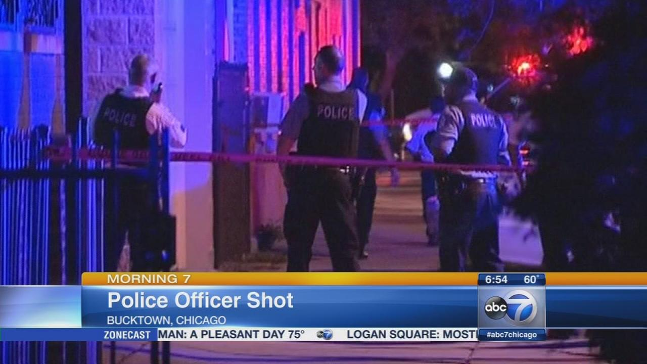 Officer wounded in Bucktown police involved shooting