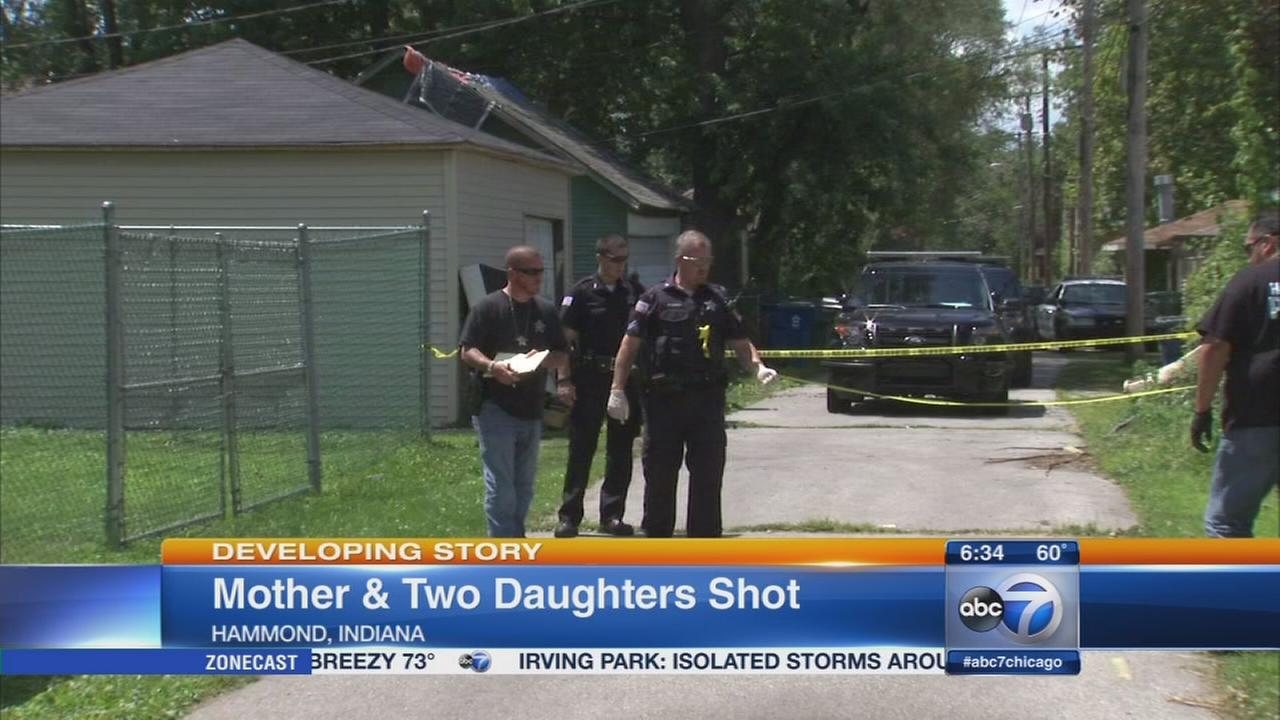 Mother, daughters shot in Hammond attempted robbery
