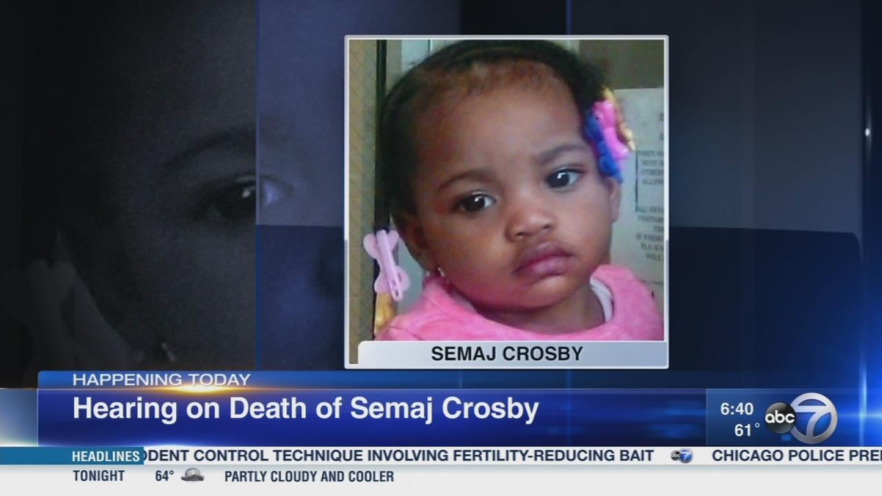 DCFS to testify on Semaj Crosby death