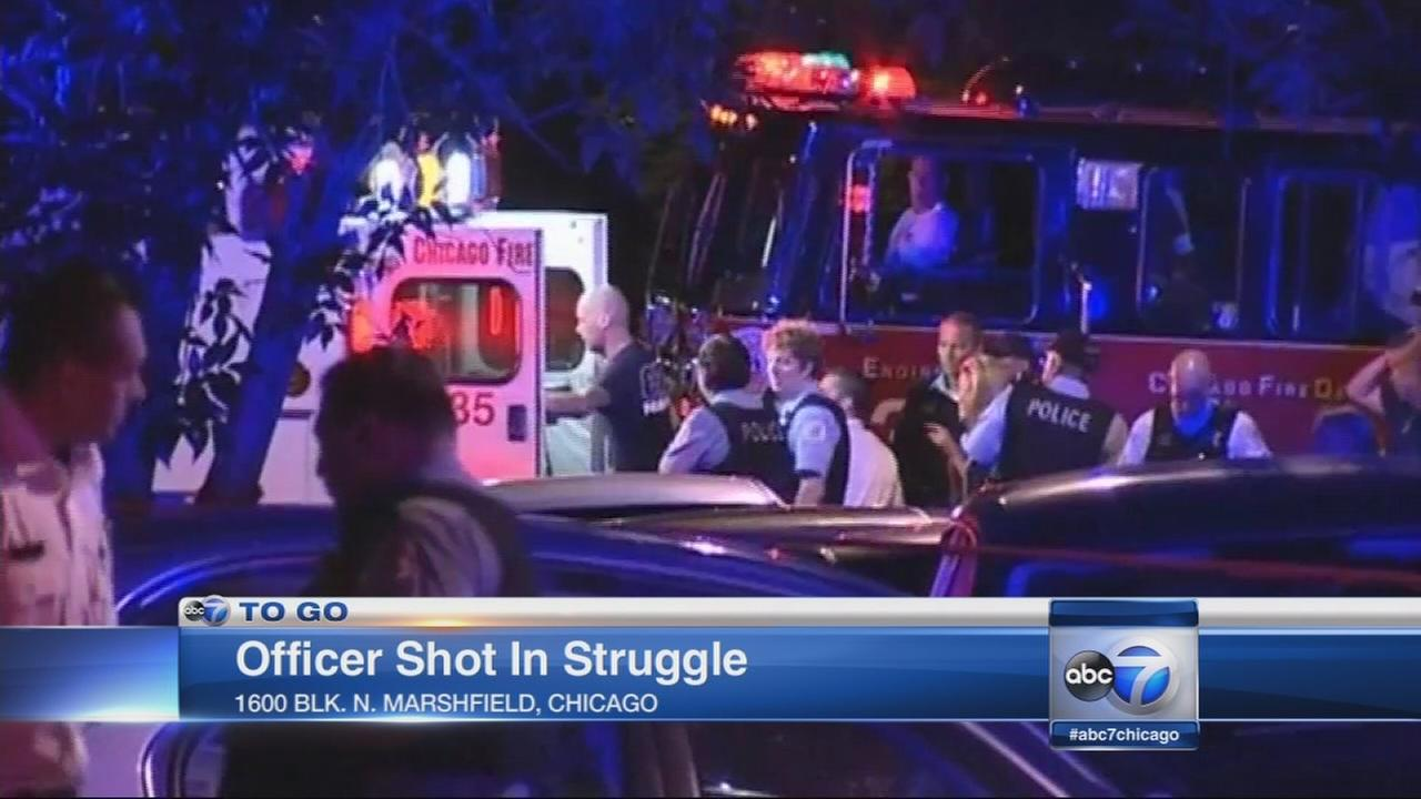 Officer hurt, suspect dead in Bucktown police involved shooting