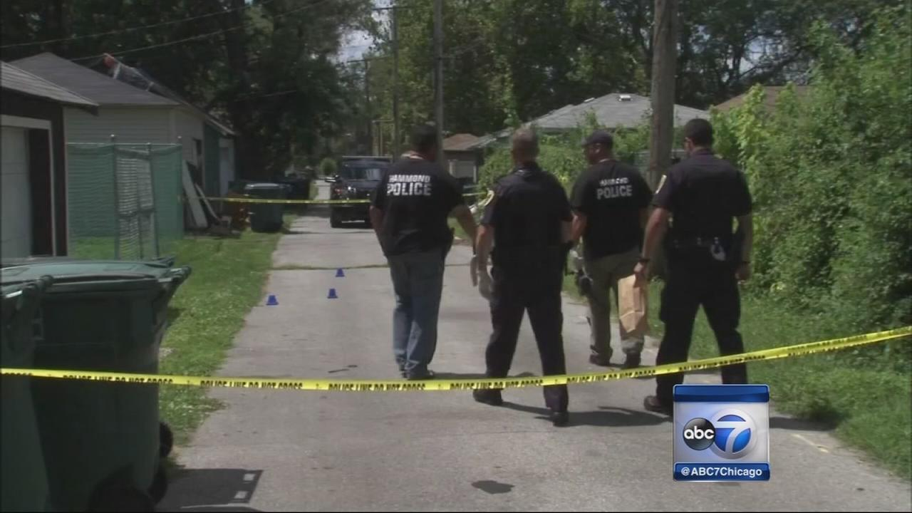 Hammond police search for shooting suspects