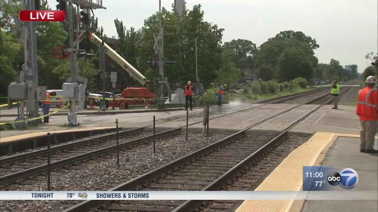 Woman fatally struck by Metra train