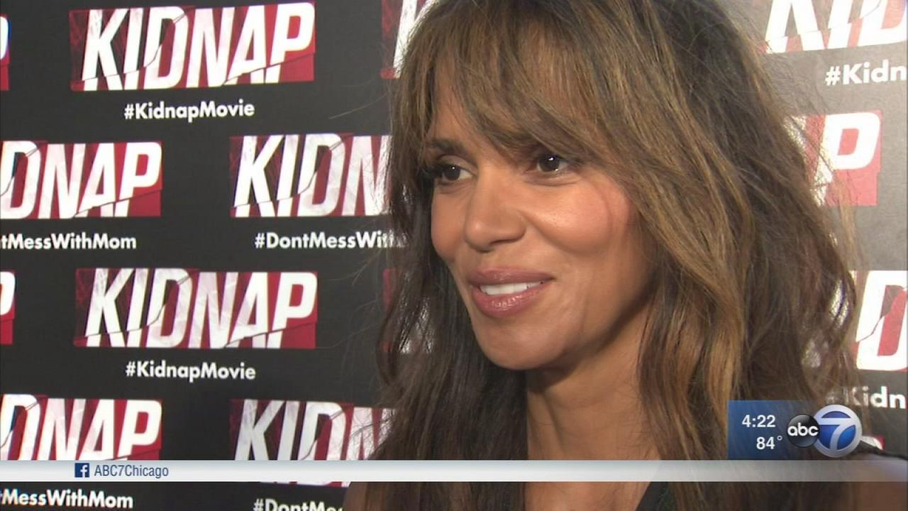 Halle Berry in Chicago to promote new movie