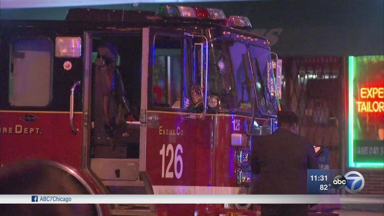 Fire truck shot at in South Shore