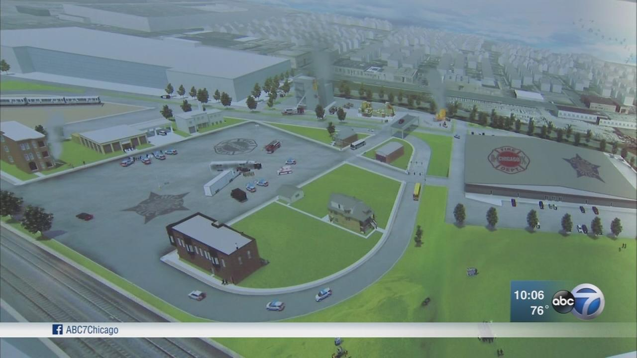First responder training facility moves forward