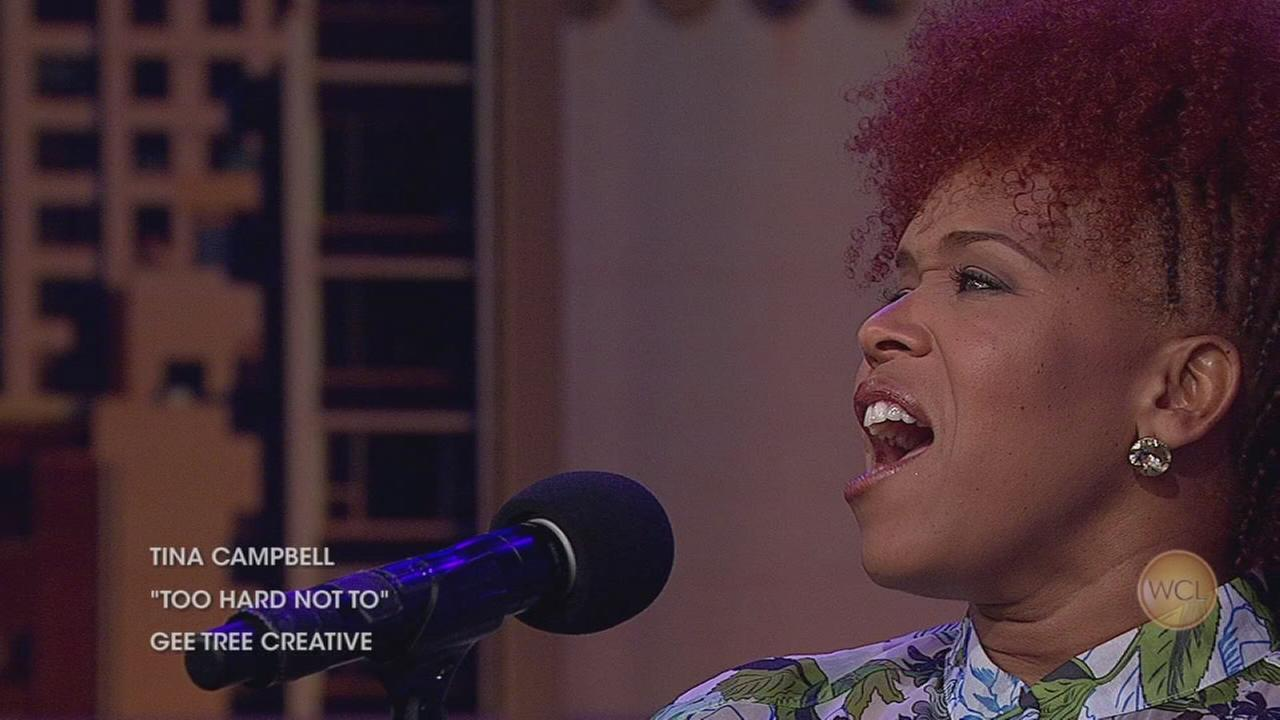 From ?Mary Mary,? award-winning singer Tina Campbell performs