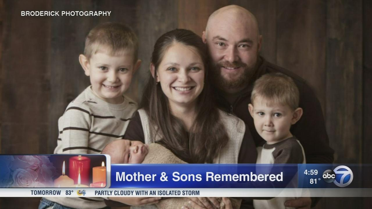IL man charged in crash that killed mother, 3 sons