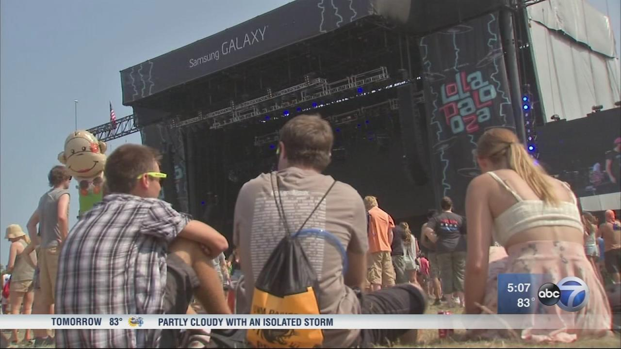 To enjoy Lollapalooza, avoid fake tickets and party responsibly