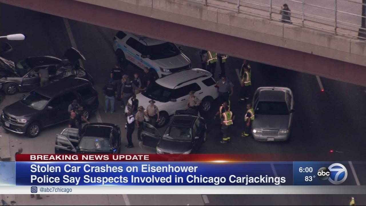 4 injured, 2 critically, in Eisenhower crash near Ashland