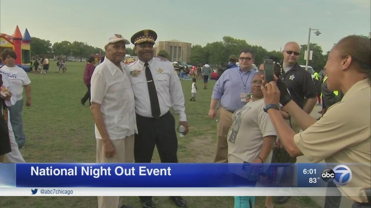National Night Out events held throughout Chicago and suburbs
