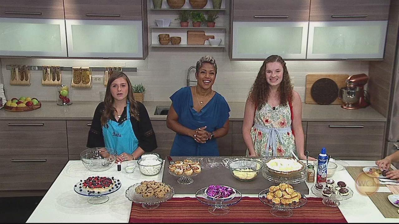 Pastry Kids Bianca Burz and Bella Thoms cook up fun
