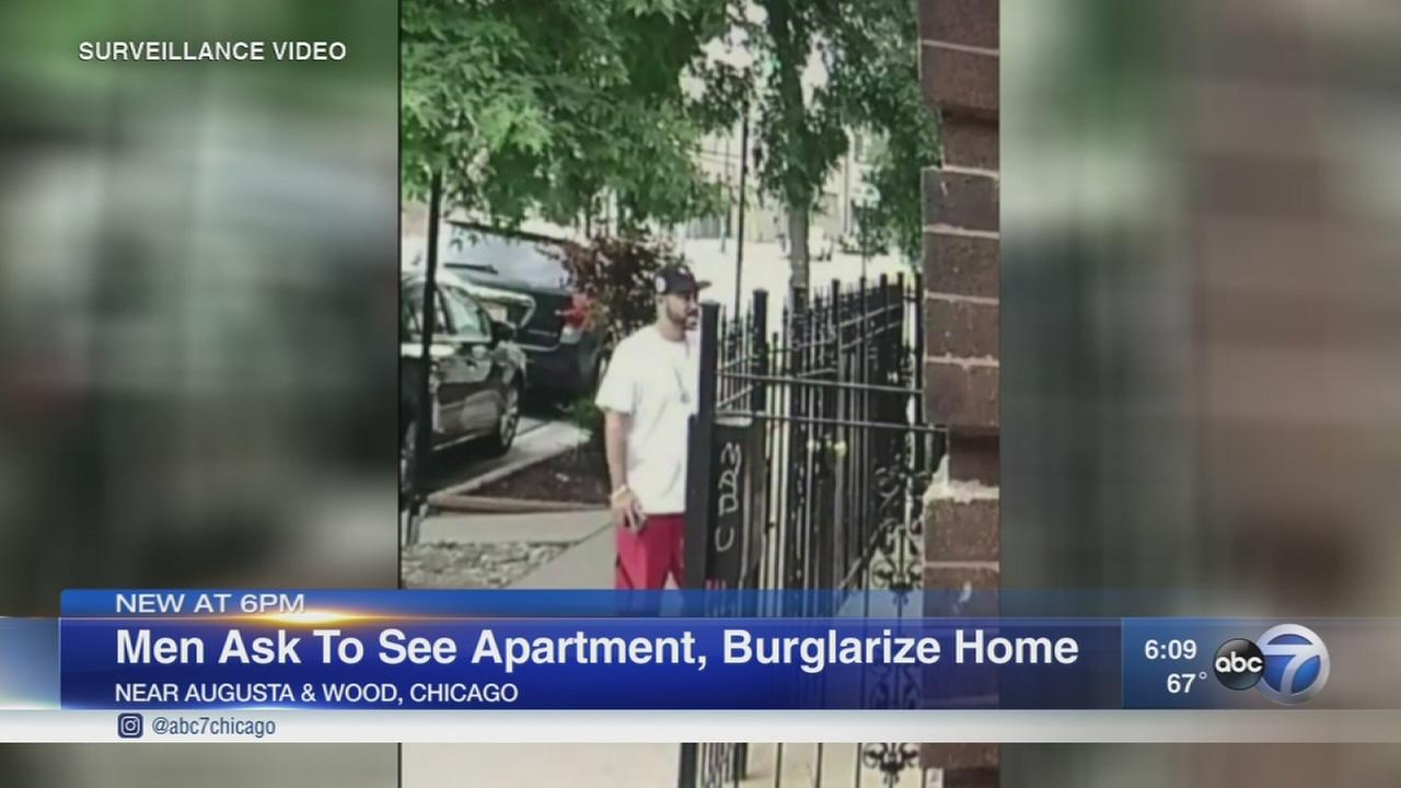 Men asking to see apartment for rent, burglarize home in Ukrainian Village