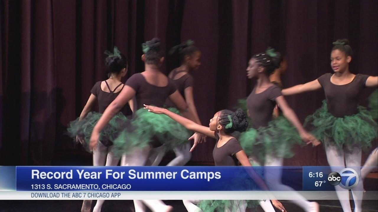 Record year for Chicago summer camps