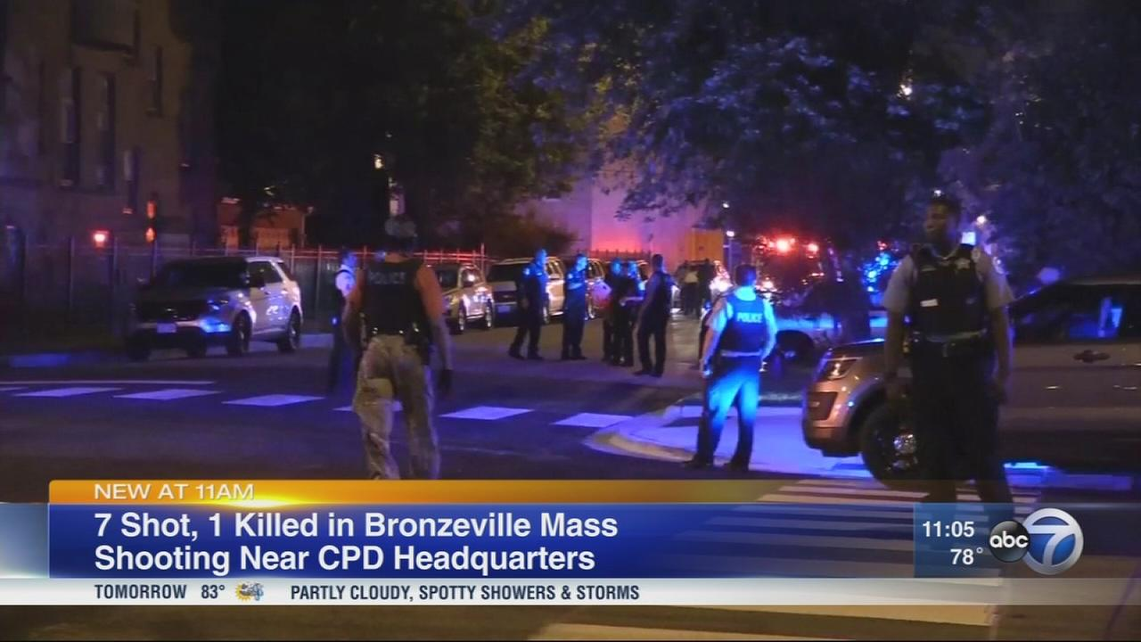 7 shot in deadly Bronzeville mass shooting