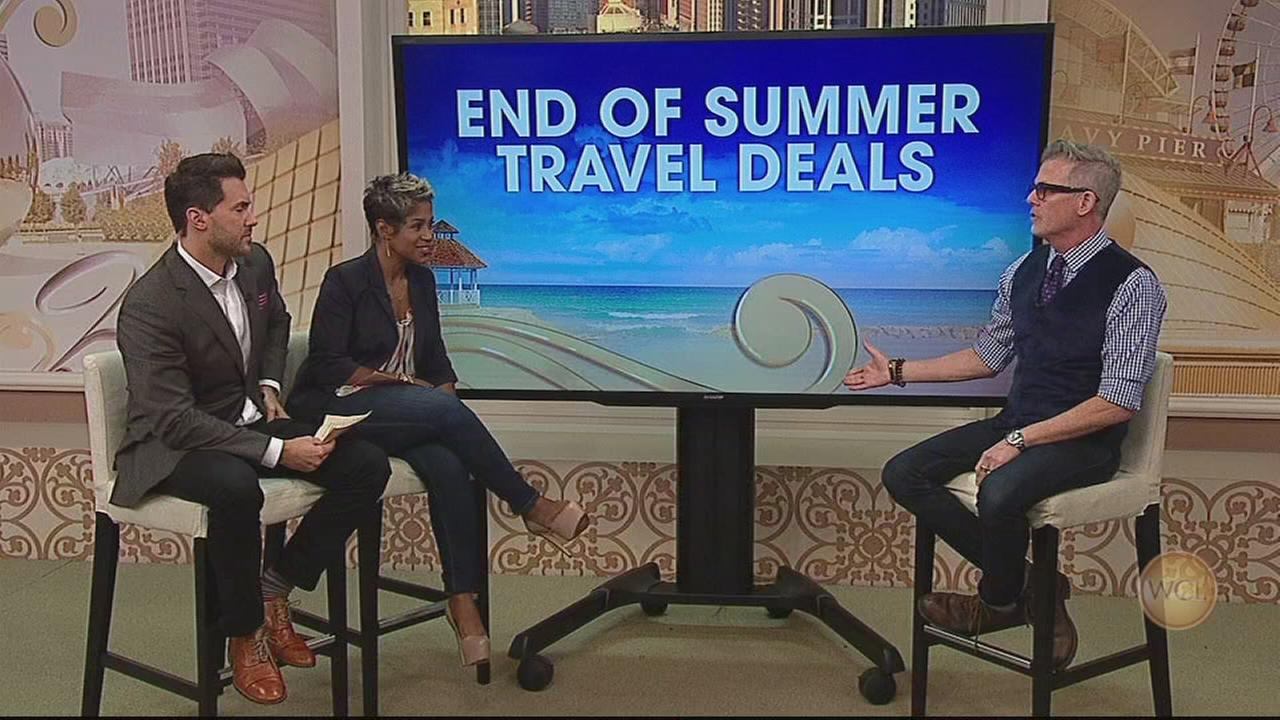 Great end-of-summer travel deals